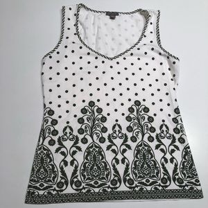 Ann Taylor Cotton Tank Top - S